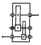 цилиндрических двухступенчатых редукторов схемы